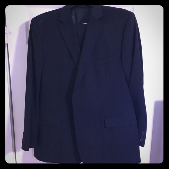 Polo By Ralph Lauren Suits Blazers Dark Blue Two Button Suit
